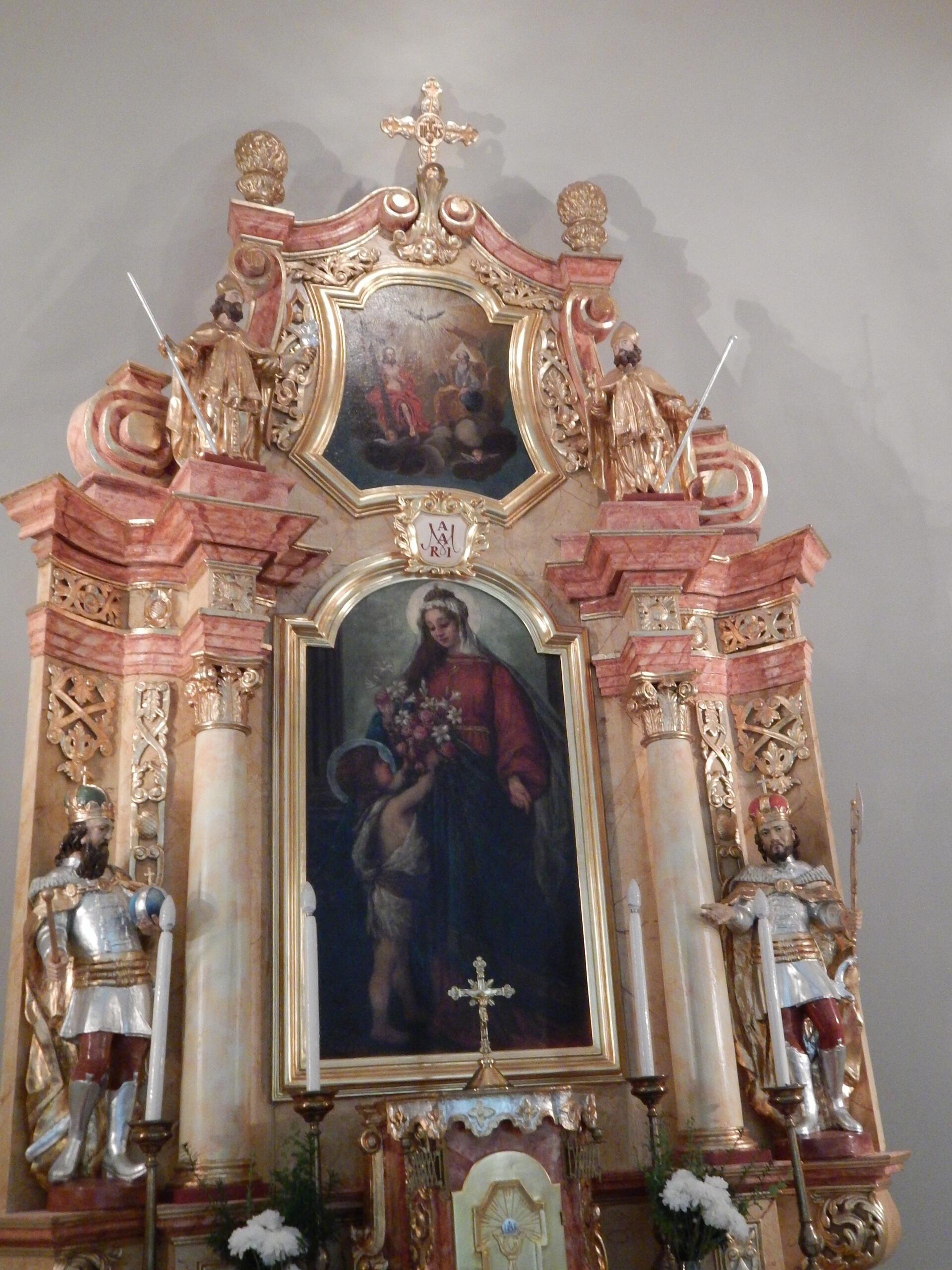 K2/183 Sopronnémeti 1 Szent András templom