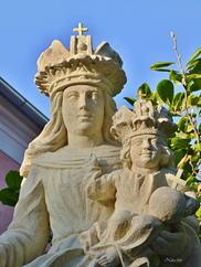 K2/128 Mihályi 3 köztéri szobrok